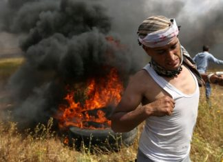 Palestinian Authority: At Least 15 Palestinians Killed in Gaza Mass Demonstration