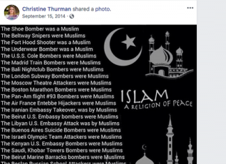 Social media posts by Leon Circuit judge candidate Christine Thurman are drawing fire from local attorney Mutaqee Akbar and others. (Photo: Screen capture from Christine Thurman's page)