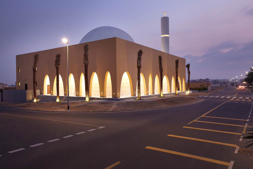 Al Warqa'a Mosque, Dubai, UAE
