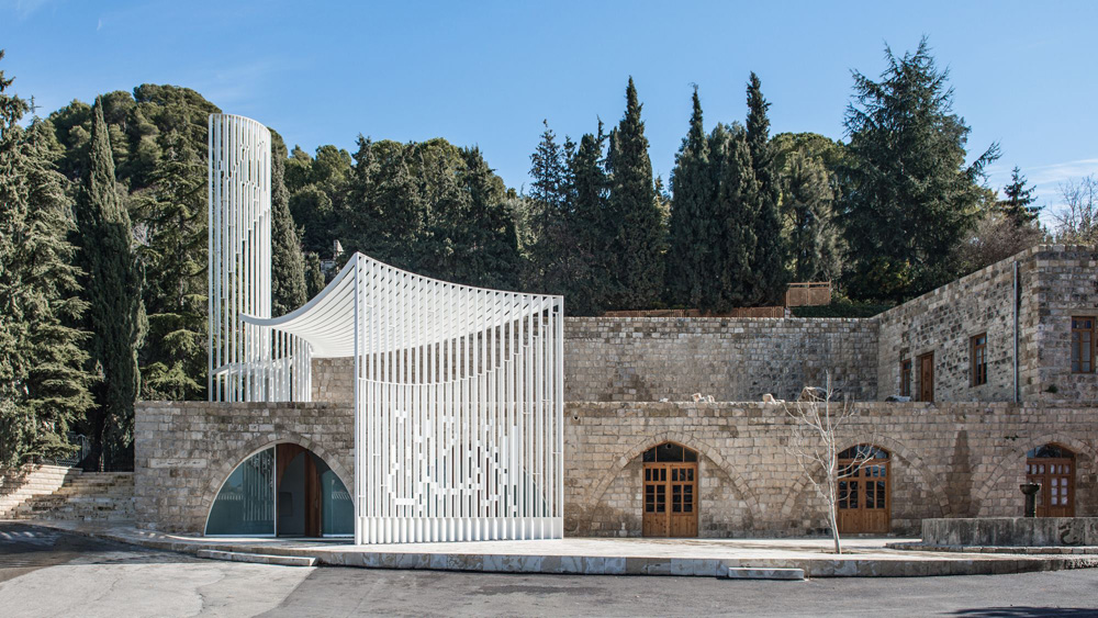 Amir Shakib Arslan Mosque, Moukhtara, Lebanon