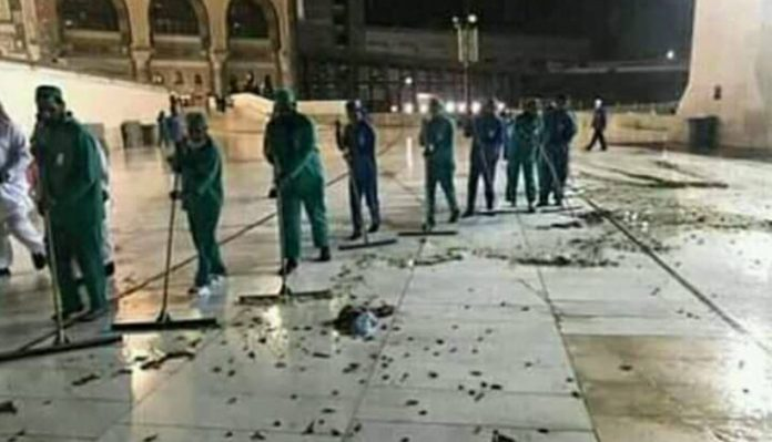 Mecca's Grand Mosque, the World'S Holiest Muslim Site, is Under Attack by Locusts