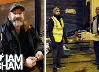 Green Lane Mosque in Birmingham has opened its doors to the homeless as temperatures drop