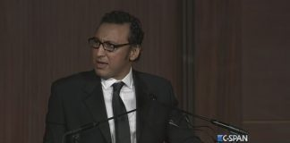 Aasif Mandvi at 2015 RTCA Dinner (C-SPAN)