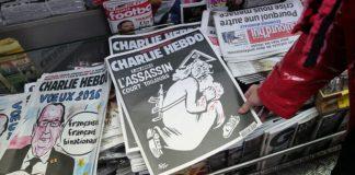 Charlie Hebdo blasted for migrant cartoon – again