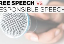 Free speech should be cherished, not abused