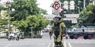 ISIS Blamed as Seven Killed in Jakarta Bomb and Gun Attacks