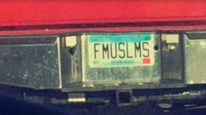 Offensive license plate kicks up controversy in Minnesota