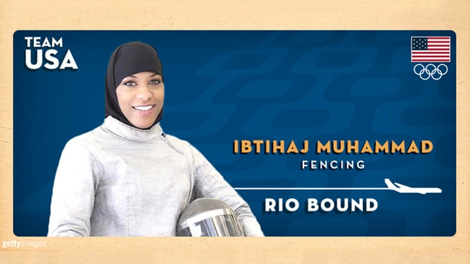 Peter Westbrook Foundation Fencer Ibtihaj Muhammad Qualifies for Olympics, Will Become First US Athlete to Compete in a Hijab