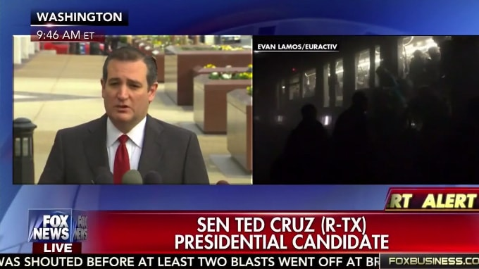 Ted Cruz Blames Obama And 'Political Correctness' For Attack In Brussels
