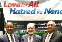 New Orleans Ahmadiyya Muslim community stands against extremism