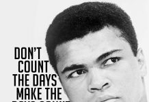 Muhammad Ali is responsible for some of the most legendary moments in the ring. His incomparable work ethic, revolutionary techniques, and fearlessness towards standing up for his beliefs, all contribute to the legend that is Muhammad Ali.