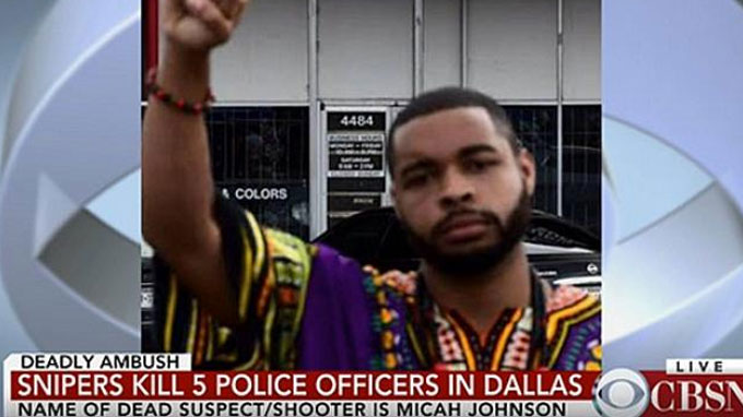 Dallas Shooter Revealed: Army Veteran Micah Xavier Johnson
