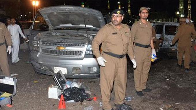 "Saudi King Salman vows 'iron fist"" against attackers"
