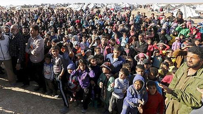 Six richest nations 'host just 9 percent of refugees'