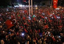 Thousands Turkish rally in pro-government protest
