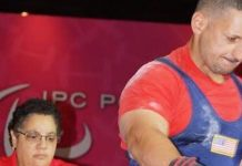 Iraqi-born US Army vet powers through polio at Paralympics