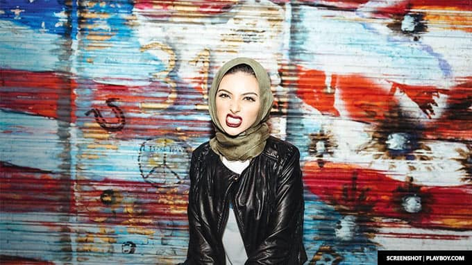 Noor Tagouri, Newsy reporter, becomes first woman to wear hijab in Playboy