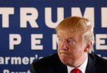 Trump Accuses Democrats of Making Up Polls Showing Clinton Ahead