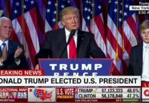 A gracious Donald Trump claims victory but promises to unite the nation as president