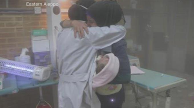 Air strike hits children's hospital in Syria's Aleppo