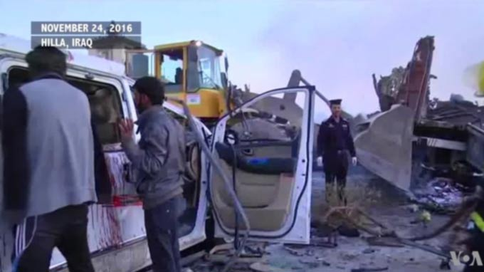 IS Claims Suicide Truck Bombing in Iraq: At Least 70 People Dead