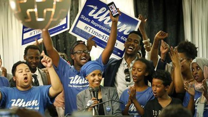 Ilhan Omar: First female Somali American lawmaker