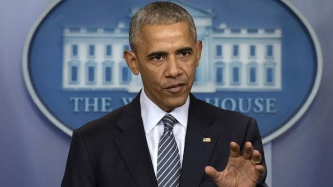 Obama Covers Range of Issues at News Conference Ahead of Final Foreign Trip