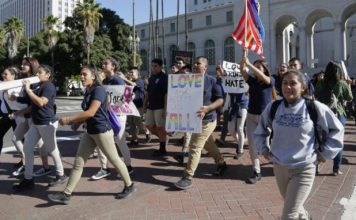 Students Walk Out, Call for 'Sanctuary Campus'
