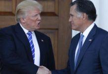 Trump Meets Former Foe Romney, Tries to Fill Key Posts