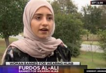 Woman Banned for Wearing Hijab