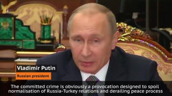 Putin: No Link Between Islam, Terror