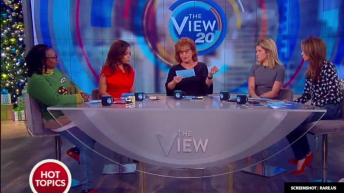 """The View"" listed three reasons the Electoral College should flip for Clinton"