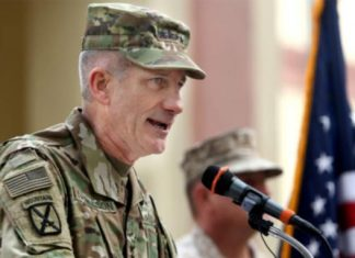 US Commander Worries About Aid Taliban Receives From Pakistan, Russia, Iran