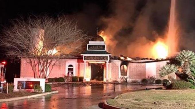 Americans raise $600,000 to rebuild burned Texas mosque