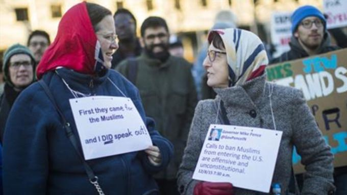 Donald Trump's #MuslimBan sparks outrage and fear