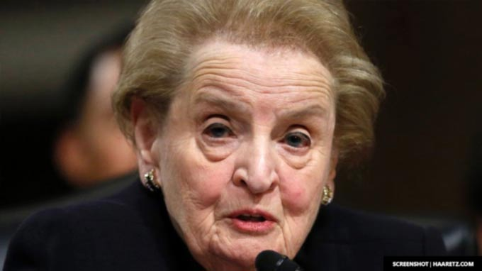Madeleine Albright Defends Muslim's In Trump's America