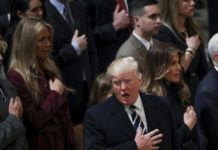 Trump, Pence Attend National Prayer Service Stressing Reconciliation