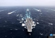 Against warnings from China, the United States Navy sets out for South China Sea