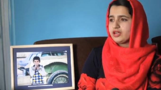 Young Afghan Photographers Work Highlights Plight of Children and Women
