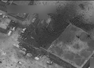 Pentagon Confirms Strike in Syria but Denies Targeting Mosque