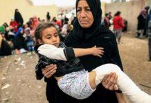 UN: 4,000 civilians flee Mosul each day amid fighting