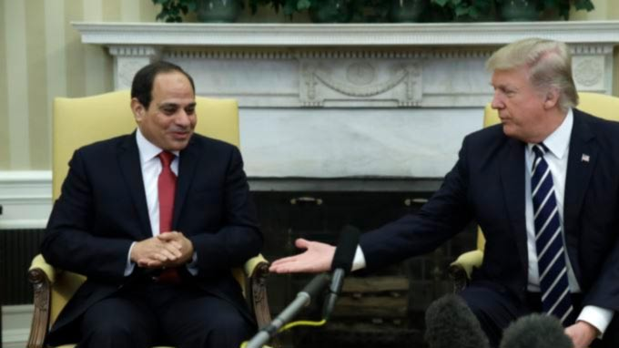Trump Reverses US Policy Toward Egypt, Welcoming Sissi