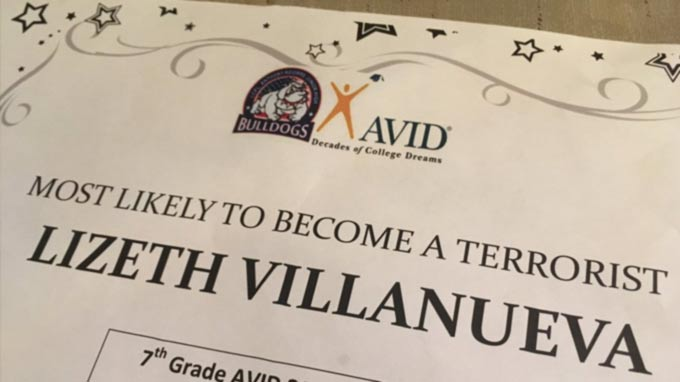 Teachers Say Teen is 'Likely to Become a Terrorist'