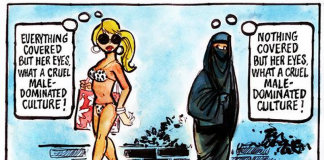 The Burqa or the Bikini?