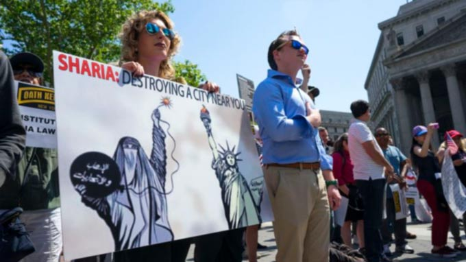 Anti-Sharia Rallies Draw Counterprotesters in Cities Across the US