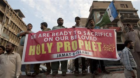 Pakistan Death penalty for blasphemy on Facebook