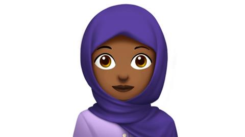 Hijab-wearing woman among Apple's new emojis