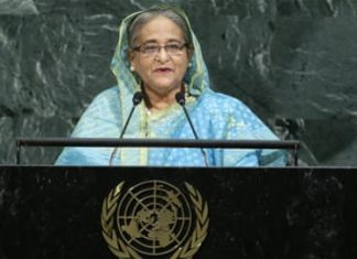 Hasina seeks return of Rohingya refugees to Myanmar