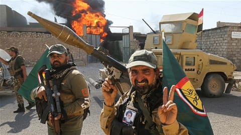 Iraq's second army: Who are they, what do they want