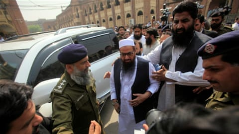 US expresses 'deep concern' over Hafiz Saeed release